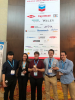 Susan Perry and students at AIChE conference