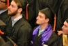 Engineering Students donning their caps and gowns at the 2016 Senior Recognition Celebration