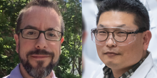 Jonathan Rothstein (left) and Jungwoo Lee (right)